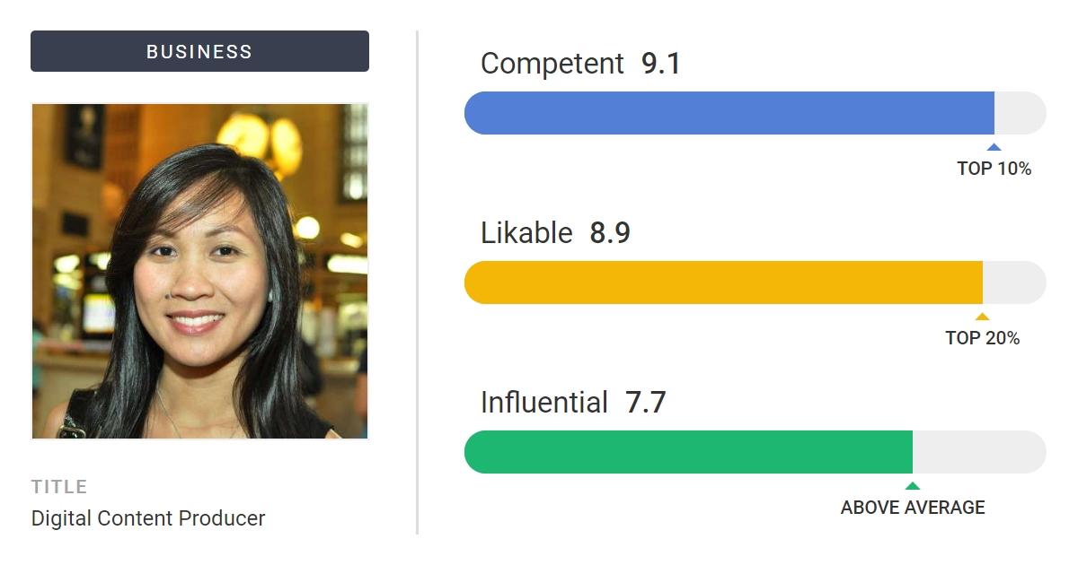Photofeeler - Get unbiased feedback. Use the right profile photos.